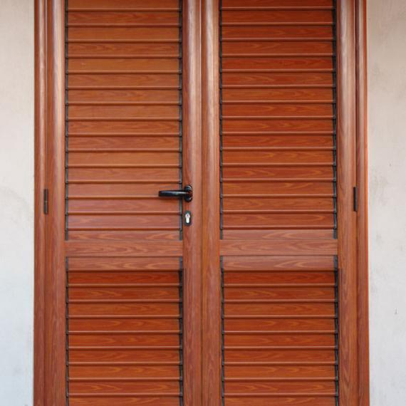 porta persiana taglio a freddo